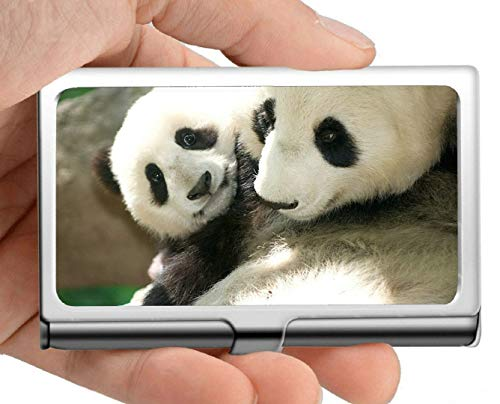 Visitenkartenetui, Toob Animal Panda Visitenkartenetui Visitenkartenetui (Edelstahl)