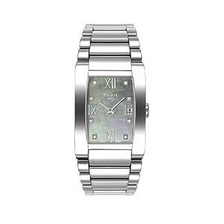 Tissot T0073091112600 – Reloj analógico de mujer de cuarzo con correa de acero inoxidable negra