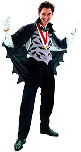 Costume Dracula uomo Halloween Taglia Unica