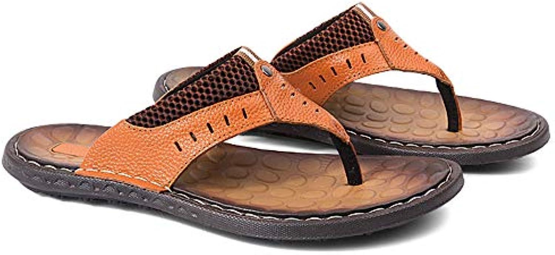 Jiuyue-scarpe, Infradito Comodo Infradito Infradito per Gli Uomini,Scarpe da Uomo. (Coloree   Marronee, Dimensione...   In Linea    Uomo/Donna Scarpa