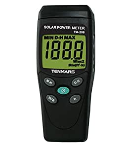 Ambient Weather TM-206 Solar Power Meter (Pyranometer) by Ambient Weather