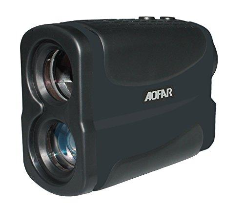 AOFAR Golf Jagd Laser Entfernungsmesser 700m 6x Multifunktions Wasserdichte Range Finder mit Ranging, Flagpole Lock, Nebel und Geschwindigkeit, Kostenlose Batterie