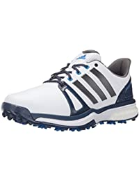 Adidas Adipower Boost-2 Golf Profilierte, Kern schwarz / dunkel Silber Metallics05 / rot, 7 M Us