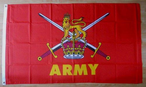 British Army Grand Drapeau 152 x.