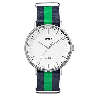 Timex Reloj Analogico para Unisex de Cuarzo con Correa en Tela TW2P90800