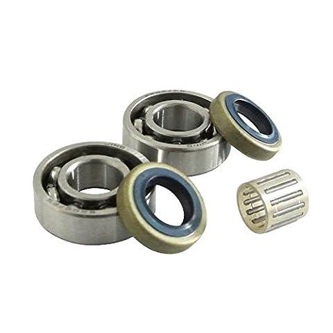 Generic Crankshaft Bearing & Oil Seal Piston Pin Bearing Fit HUSQVARNA 268 272 61 66 266