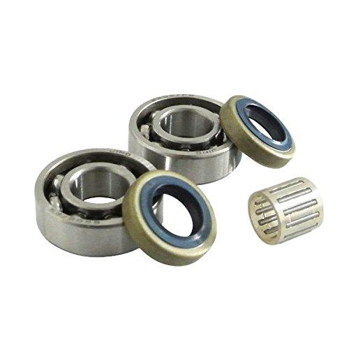 Kurbelwelle Bearing & Öldichtung Kolben Replica Pin Bearing Passend Für Husqvarna 268 272 61 66 266