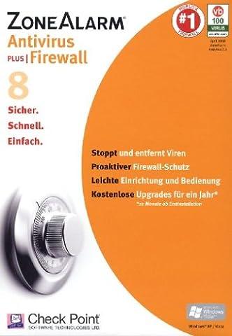 ZoneAlarm Antivirus 8 Plus Firewall