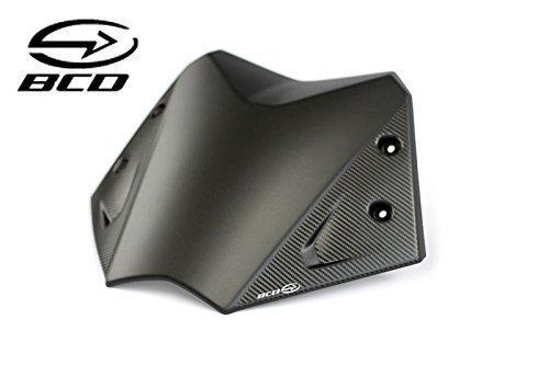Parabrezza BCD per YAMAHA TMax 530 T-Max Nero opaco Carbonio kit riparazione Short Screen