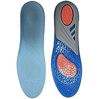 LanLan Massieren Einlegesohlen Unisex Silikon Gel Einlegesohlen, die Schuh Schock Einlegesohle weiche bequeme... preisvergleich bei billige-tabletten.eu