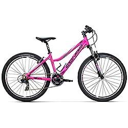 """Conor 5200 26"""" Bicicleta Ciclismo Mujer, Rosa, S"""