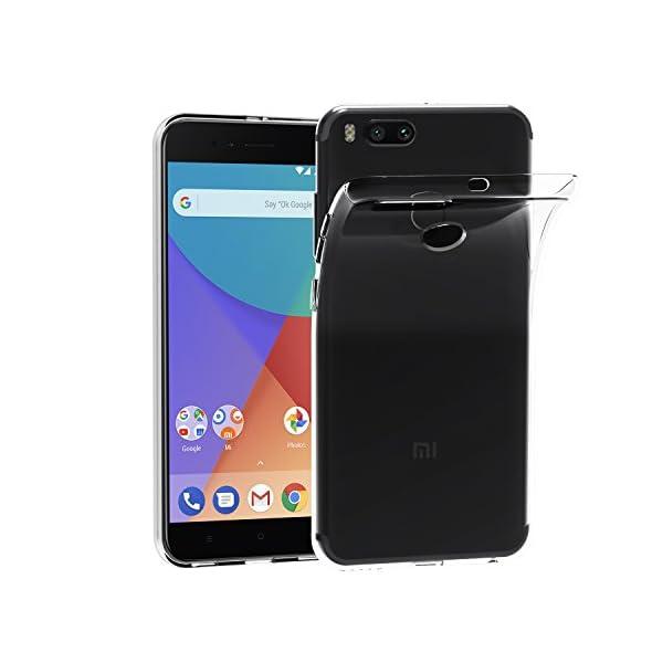 Ultra Fina 0,33mm Silicona TPU de Alta Resistencia y Flexibilidad iVoler Funda Carcasa Gel Transparente para Xiaomi Redmi 5 Plus