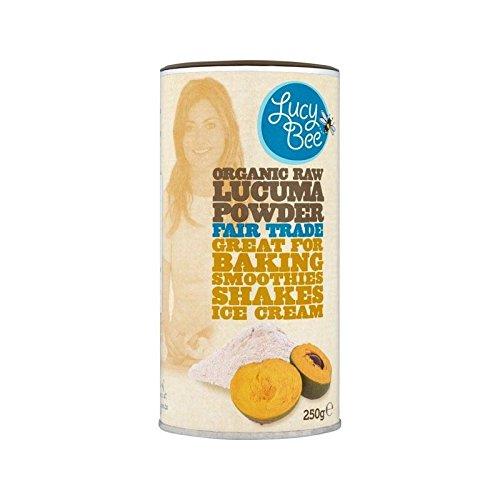 Lucy Abeille Organique Cru Lucuma Commerce Équitable Poudre 250G - Paquet de 2