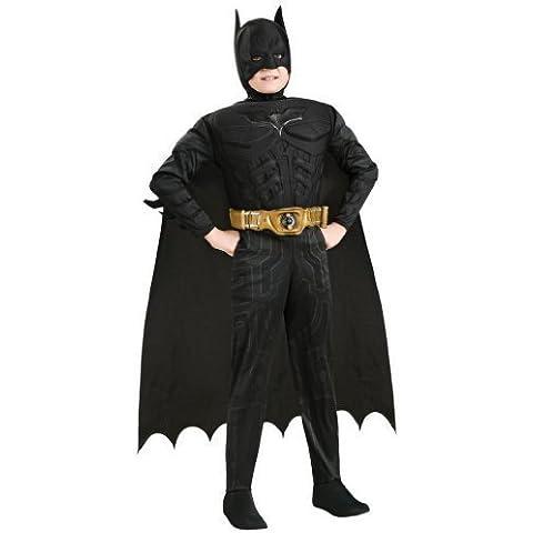 Batman - Disfraz musculoso con accesorios, para niños (Rubie's)