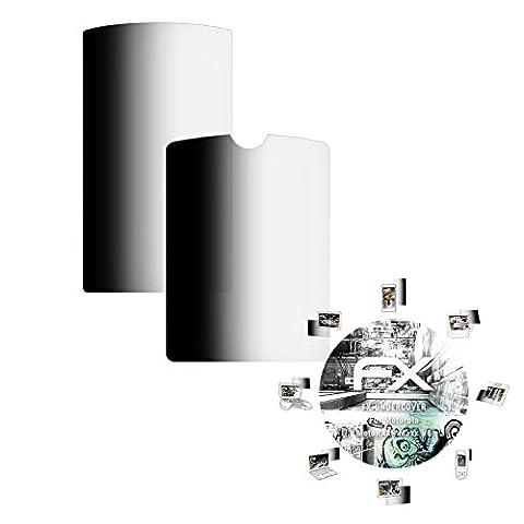 Motorola MotoRAZR Maxx V6 Blickschutzfolie - 1er Set atFoliX FX-Undercover 4-Wege Sichtschutz Blickschutzfilter