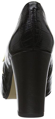Gardenia Copenhagen Albine, Escarpins Femme Noir (Croco Black)