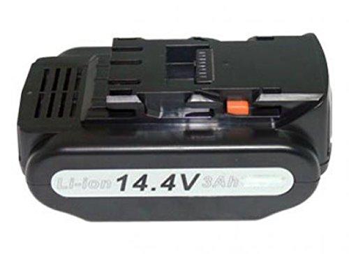 Preisvergleich Produktbild PowerSmart® 14.40V 4000mAh Li-Ion Akku für Panasonic EY3640K, EY3640LR1S, EY3641K, EY3641LR1S, EY3740B, EY3741B, EY4541LR1S, EY4541X, EY4542LR2M, EY4542LZ2M, EY4542XM, EY4640LR1S, EY4640X, EY7440LN2S, EY7441, EY7441LE2S, EY7441LE2S31, EY7441LR2S, EY7441LZ2S, EY7441LZ2S31