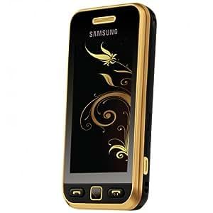 Samsung S5230 Téléphone portable GSM/GPRS/EGE Bluetooth Noir/Doré