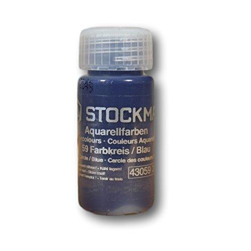 Stockmar Aquarellfarbe 20 ml - Farbkreis, Farbe: 59 Blau (Farbkreis)