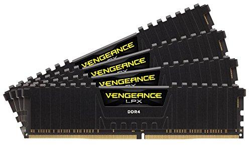 Corsair Vengeance LPX - Módulo de Memoria XMP 2.0 de 32 Gb (4 X 8 Gb, DDR4, 3000 MHz, C15), Negro