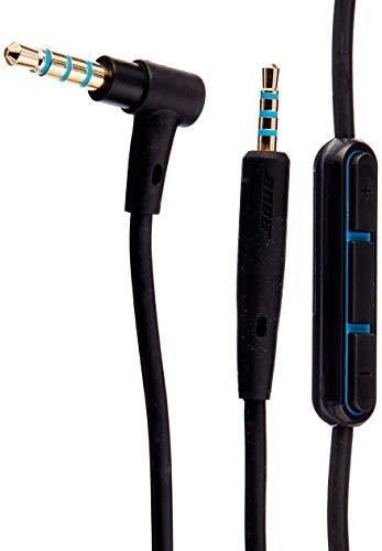 Bose QuietComfort 25 Kopfhörer-Kabel mit Inline-Mikrofon und Fernbedienungfür Samsung/Android Gerät, schwarz thumbnail
