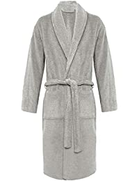 MyShoeStore Womens Mens 100% Luxury Egyptian Cotton Super Soft Terry  Towelling Bath Robe Unisex Ladies 64babe4a3