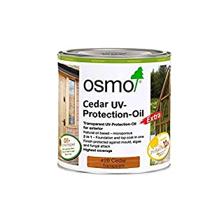 Osmo UV-Protection Oil-Cedar with Active Ingredients 428C 0.75 Litre