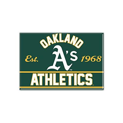 WinCraft MLB OAKLAND ATHLETICS Metall Magnet Oakland Athletics Mlb Magneten