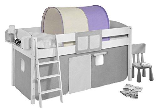Etagenbett Vergleich : Lll➤ tunnel lila beige fuer hochbett spielbett und etagenbett