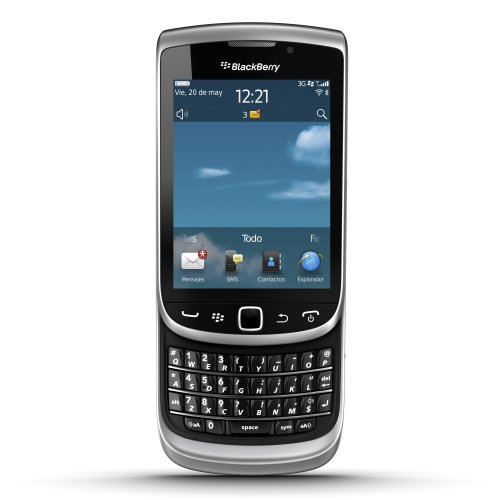 RIM Blackberry torch 9810 Smartphone Qwerty 7.0 Monobloc Bluetooth Gris Zinc