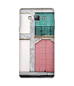 Door Printed Back Cover Case For Samsung Galaxy A7
