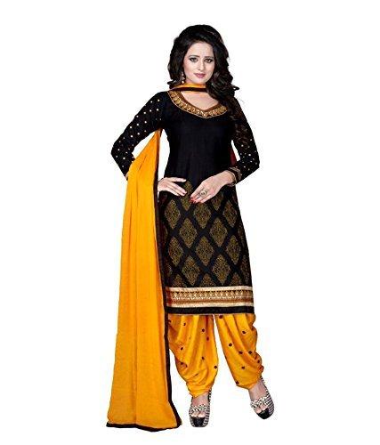 Insight ecommerce Women\'s Pure Cotton Patiala Salwar Suit for Women Un Stitched Dress Material