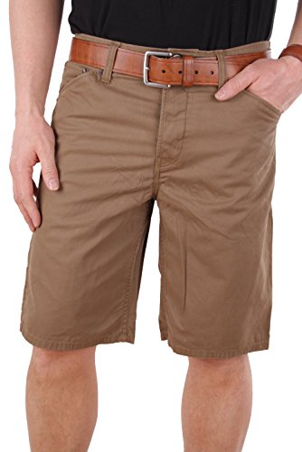 Timberland-herren-shorts (Timberland Herren Bermuda Shorts Grafton Lake 8012J (W32, Braun))
