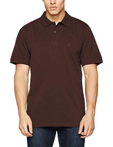 JP 1880, Große Größen Herren Poloshirt Piquee, Braun (braun 30), 4XL (Polo-shirts Für Große Männer)