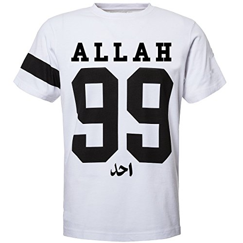 AHAD THE ONE 99 Names of Allah Muslim Unisex T Shirt Islamische Islam Streetwear Kleidung von