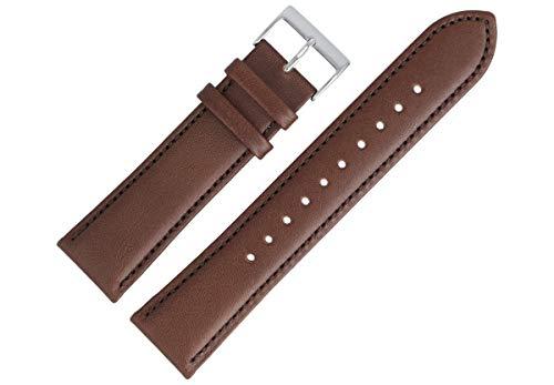 Hugo Boss Uhrenarmband 22mm Leder Braun Glatt - 659302790
