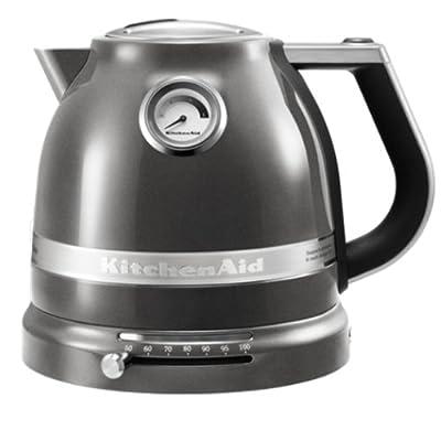 Kitchenaid - 5kek1522 ems - Bouilloire sans fil 1.5l 2400w gris étain Artisan