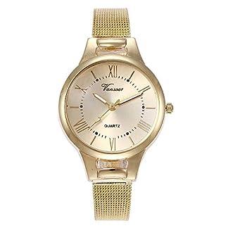 Lolamber-Armbanduhr-fr-Damen-Herren-Slim-Uhr-Armband-Frauen-Edelstahl-Geschfts-Klassisch-Analog-Quarz-Dnn-Armbanduhr-mdchen-Luxus-Elegant-Silber-Uhr-mit-Silber-Zifferblat