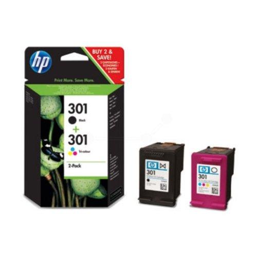 HP - Hewlett Packard DeskJet 2549 (301 / CR 340 EE#301) - original - 2 x Druckkopf Multipack (schwarz, cyan, magenta, gelb)