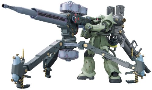 HG 1/144 MS-06 Zaku + Big Guns (Mobile Suit Gundam Thunderbolt) (japan import)
