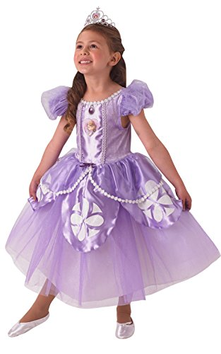 Rubie 's Offizielles Premium Sofia, Kinder Kostüm–Small (Alter 3–4Jahre)