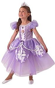 Rubies - Disfraz Oficial de Sofía para niños (niños de 3 a 4 años)