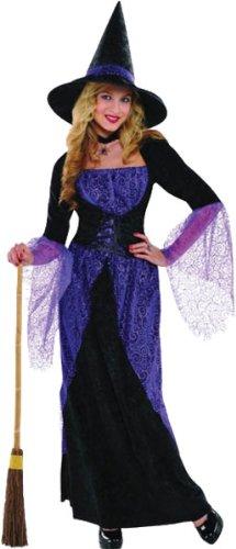 Glamouröse Hexe Damen-Kostüm (Kostüme Glamouröse)