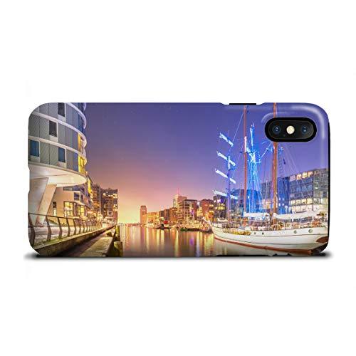 artboxONE Apple iPhone X Tough-Case Handyhülle Sandtorhafen II von Jan Hartmann