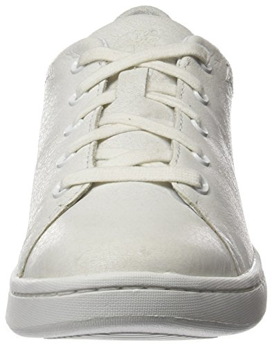 Timberland Damen Dashiell OxfordWhite Mystic Full Grain Oxford Weiß (White Mystic Full Grain)