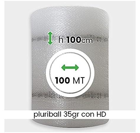 ROTOLO PLURIBALL ECONOMICO ALTO 1 MT X 40 MT 35 GR IMBALLAGGIO BOLLE DARIA TRASLOCO