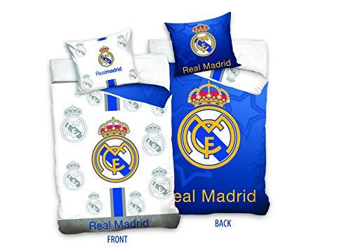 Real Madrid RM181011 - Juego Cama Reversible 135 x