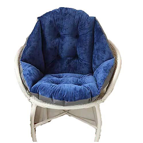 4 CUSCINI FELTRO ROTONDO Ø 35x2,5 cm sedia cuscino seduta cuscino antracite bianco