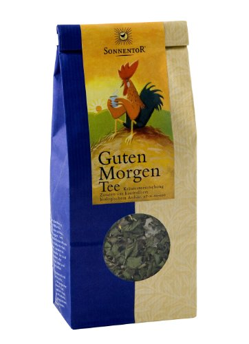 Sonnentor Guten Morgen-Kräutertee lose, 1er Pack (1 x 50 g) - Bio