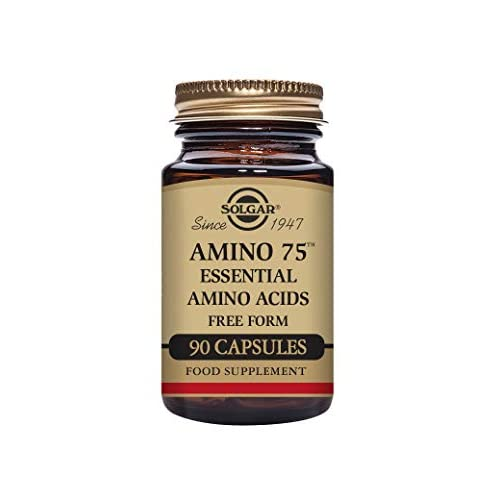 41q%2BB0eoXZL. SS500  - Solgar Amino 75 Essential Acid Vegetable Capsules - Pack of 90